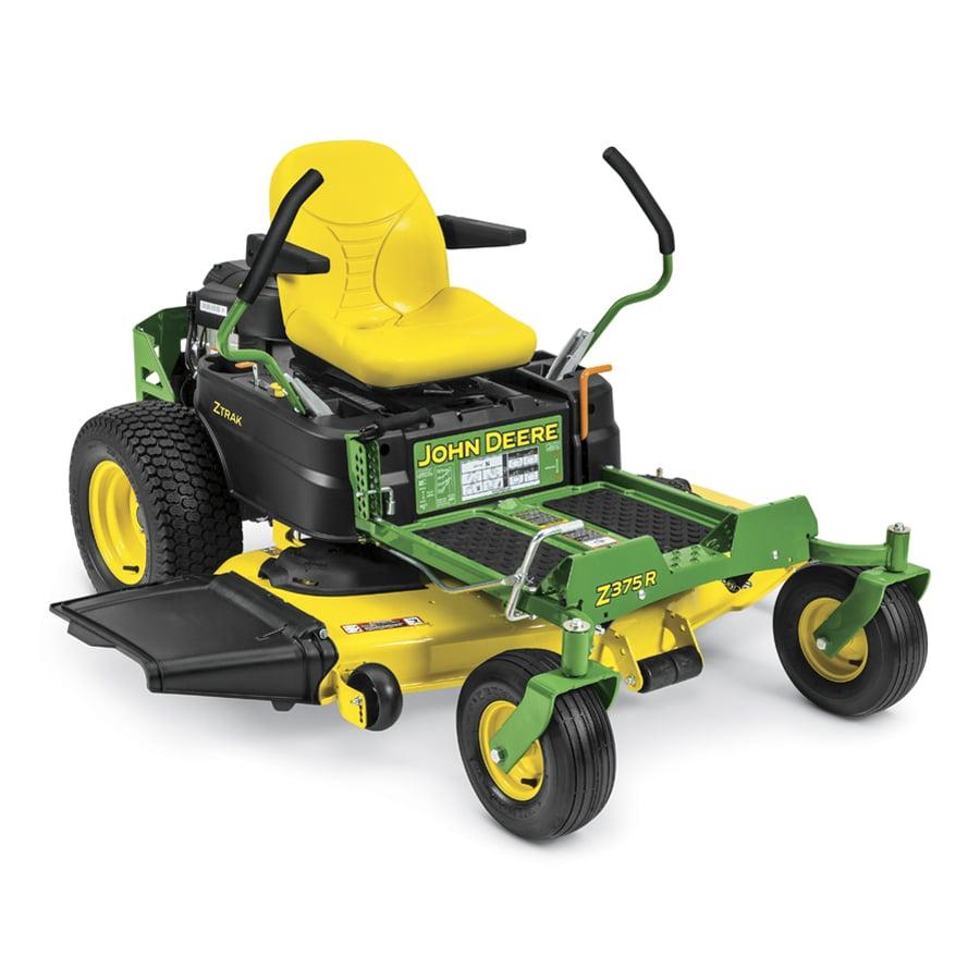 John Deere Z375R Carb 25-HP V-Twin Dual Hydrostatic 54-in Zero-Turn Lawn Mower (CARB)