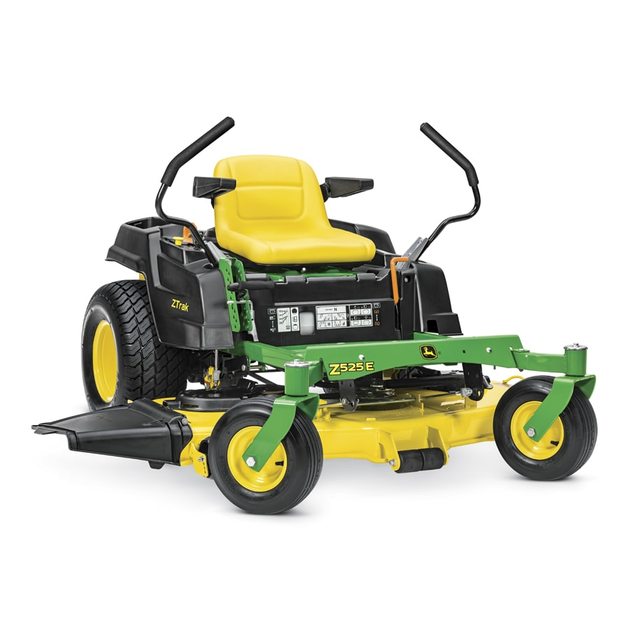 John Deere Z525E Carb 22-HP V-Twin Dual Hydrostatic 54-in Zero-Turn Lawn Mower (CARB)