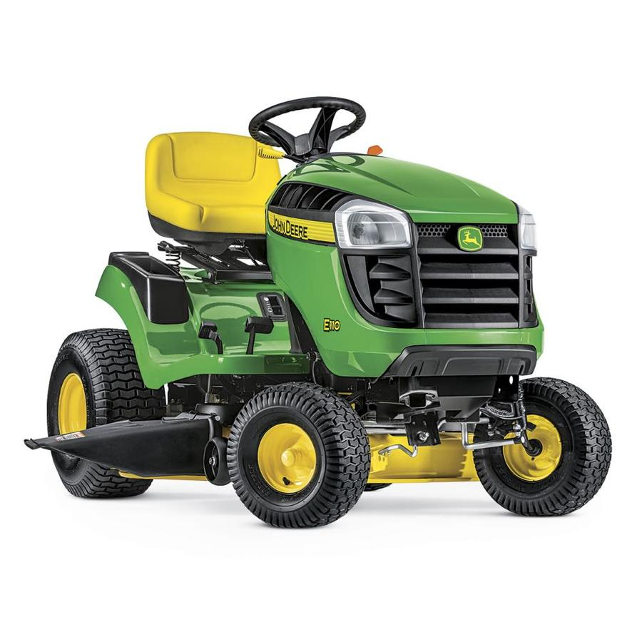 shop john deere e110 19 hp side by side hydrostatic 42 in riding