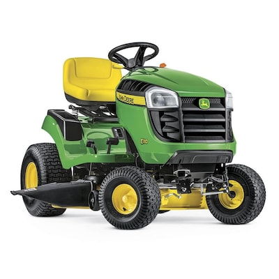 E110 19 Hp Side By Hydrostatic 42 In Riding Lawn Mower With Mulching Capability Kit Sold Separately