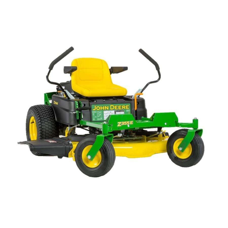 John Deere Z355E 22-HP V-Twin Dual Hydrostatic 48-in Zero-Turn Lawn Mower