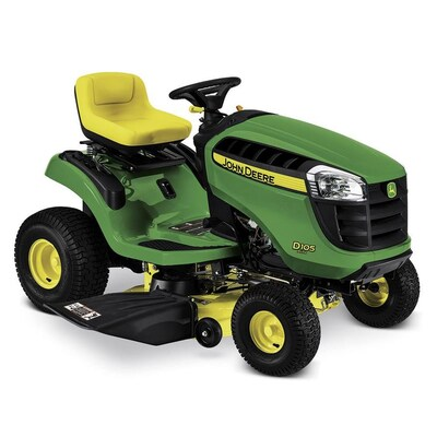 John Deere D105 17 5-HP Automatic 42-in Riding Lawn Mower