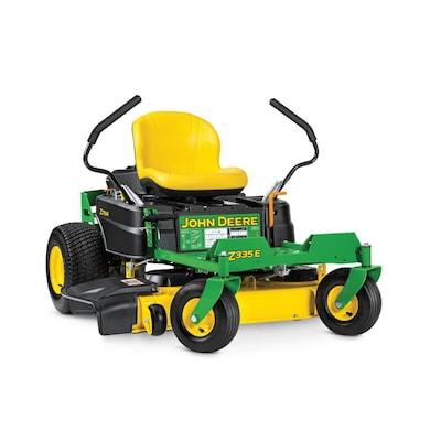 Https Email Johndeere Com >> Z335e 20 Hp V Twin Dual Hydrostatic 42 In Zero Turn Lawn Mower With Mulching Capability Kit Sold Separately