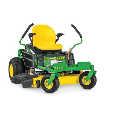 Z345r 22 Hp V Twin Dual Hydrostatic 42 In Zero Turn Lawn Mower With Mulching Capability Kit Sold Separately