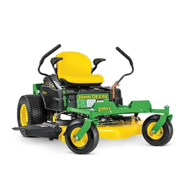 John Deere Z355E 22-HP V-twin Dual Hydrostatic 48-in Zero