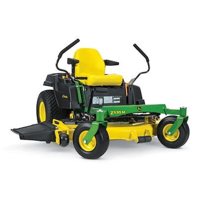 Z535m 25 Hp V Twin Dual Hydrostatic 62 In Zero Turn Lawn Mower With Mulching Capability Kit Sold Separately