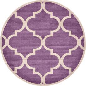 Austin Trellis Purple Rugs at Lowes com