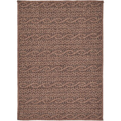Unique Loom Links Outdoor 2 X 3 Brown Rug At Lowes Com