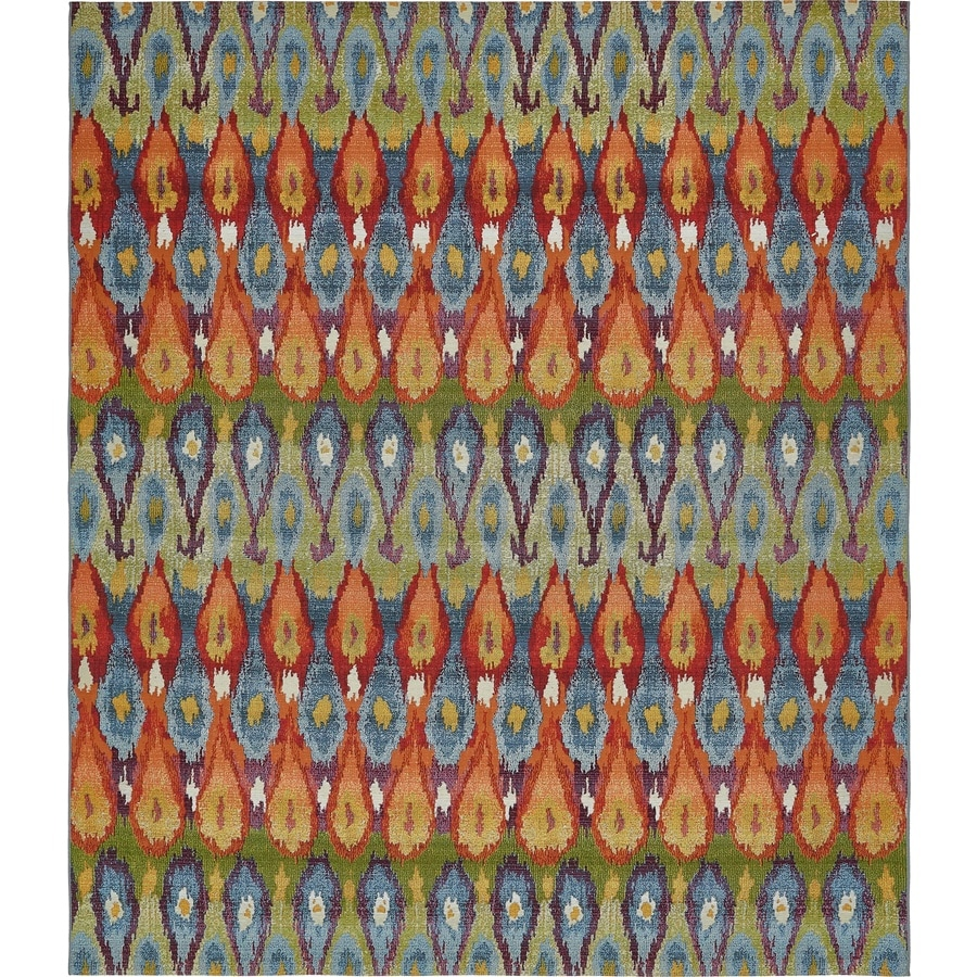Area Rug Ikat Outdoor Rugs At Lowes Com