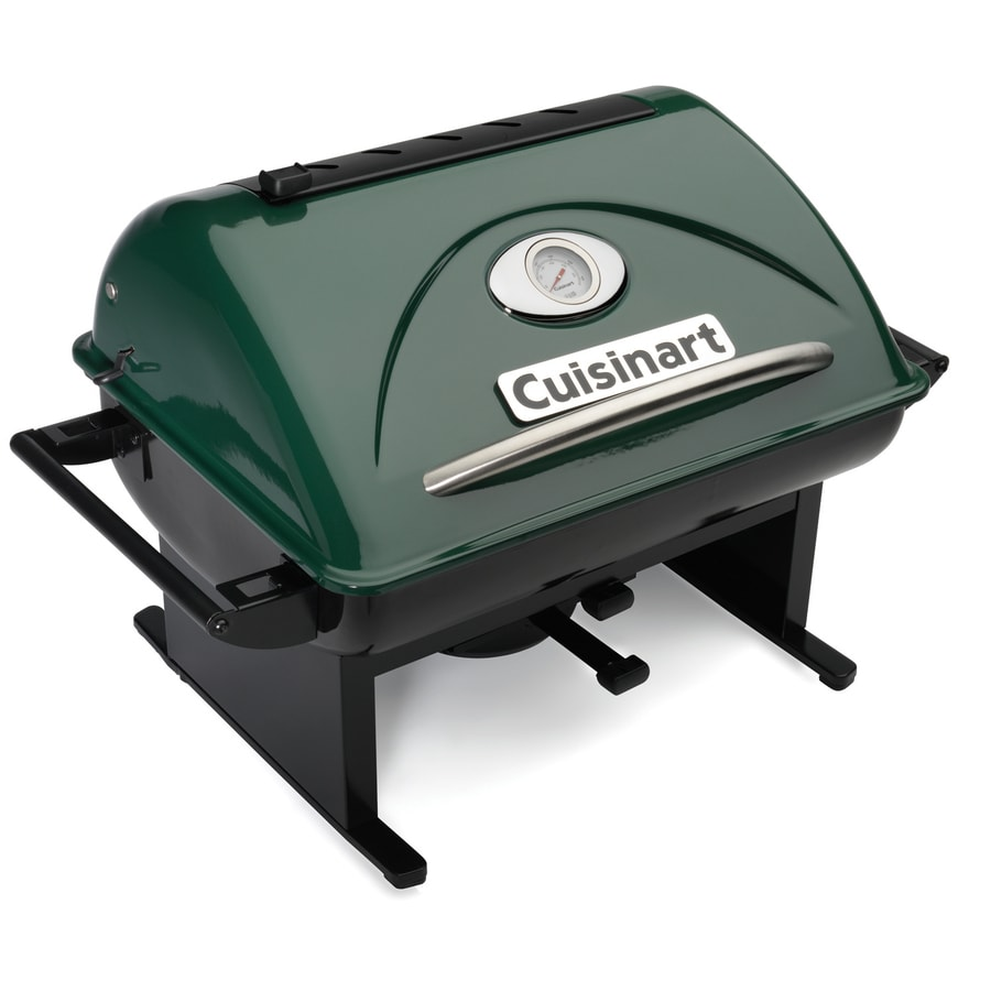 Cuisinart 240-sq in Green Portable Charcoal Grill