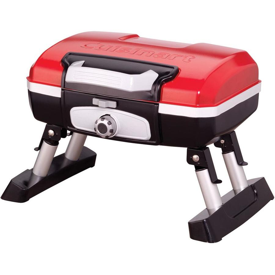 Cuisinart Petite Red 5500-BTU 145-sq in Portable Gas Grill