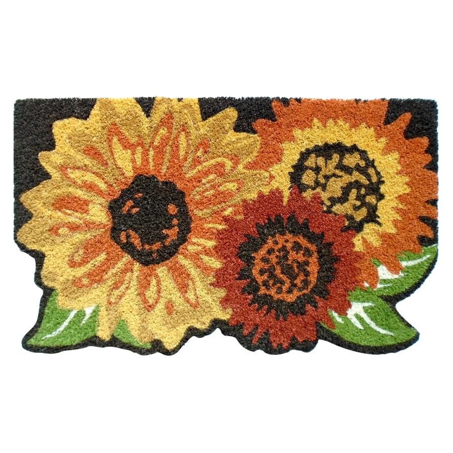 Multicolor Rectangular Door Mat (Common: 18-in x 30-in; Actual: 18-in x 30-in)