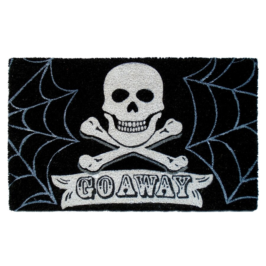 Multicolor Rectangular Door Mat (Common: 18-in x 30-in; Actual: 18-in x 30-in)