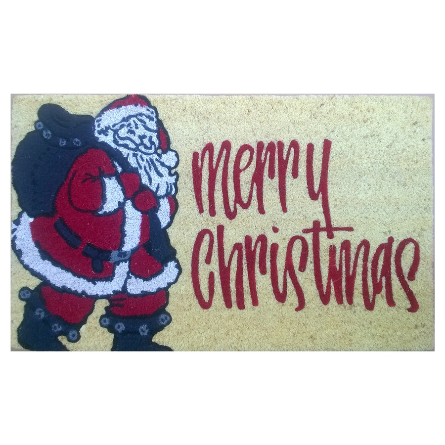 Holiday Living Rectangular Door Mat (Common: 1-1/2-ft X 2-1/2-ft; Actual: 18-in x 30-in)