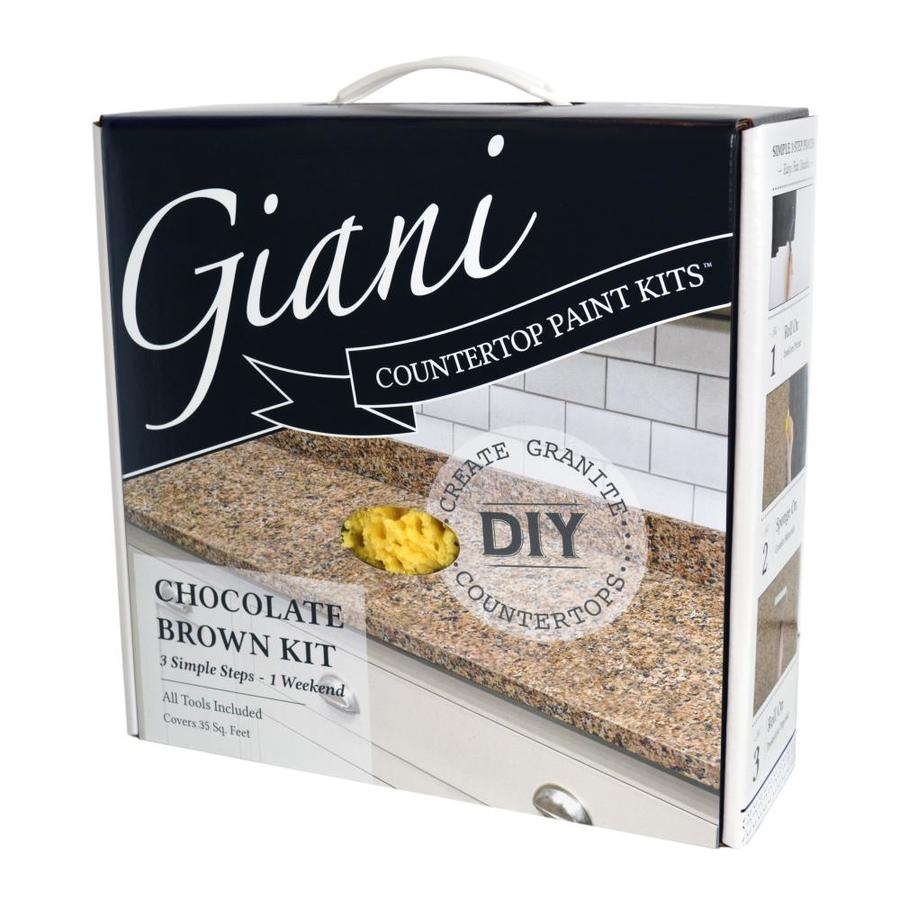 Giani Countertop Transformations Chocolate Brown High-Gloss Countertop Resurfacing Kit (Actual Net Contents: 46-fl oz)