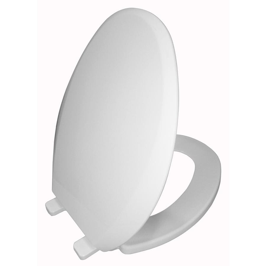 AquaSource Plastic Slow-Close Toilet Seat