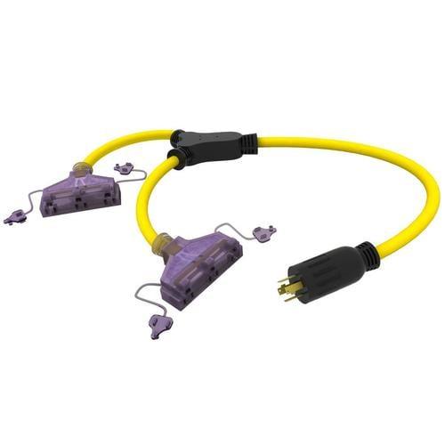 Dek 240 Volttwist Lock Adapter Y Adapter In The Generator Accessories Department At Lowes Com