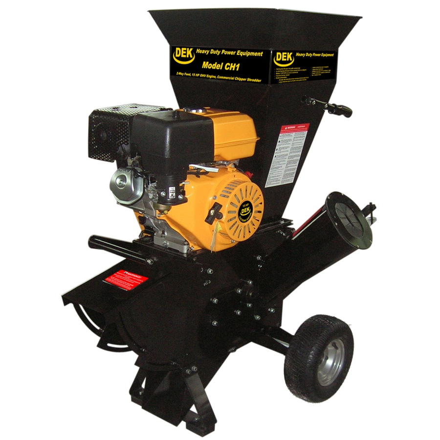 DEK 420-cc Steel Gas Wood Chipper