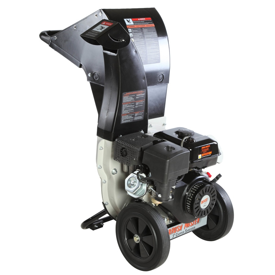 Brush Master Top Discharge 270cc Chromium Gas Wood Chipper