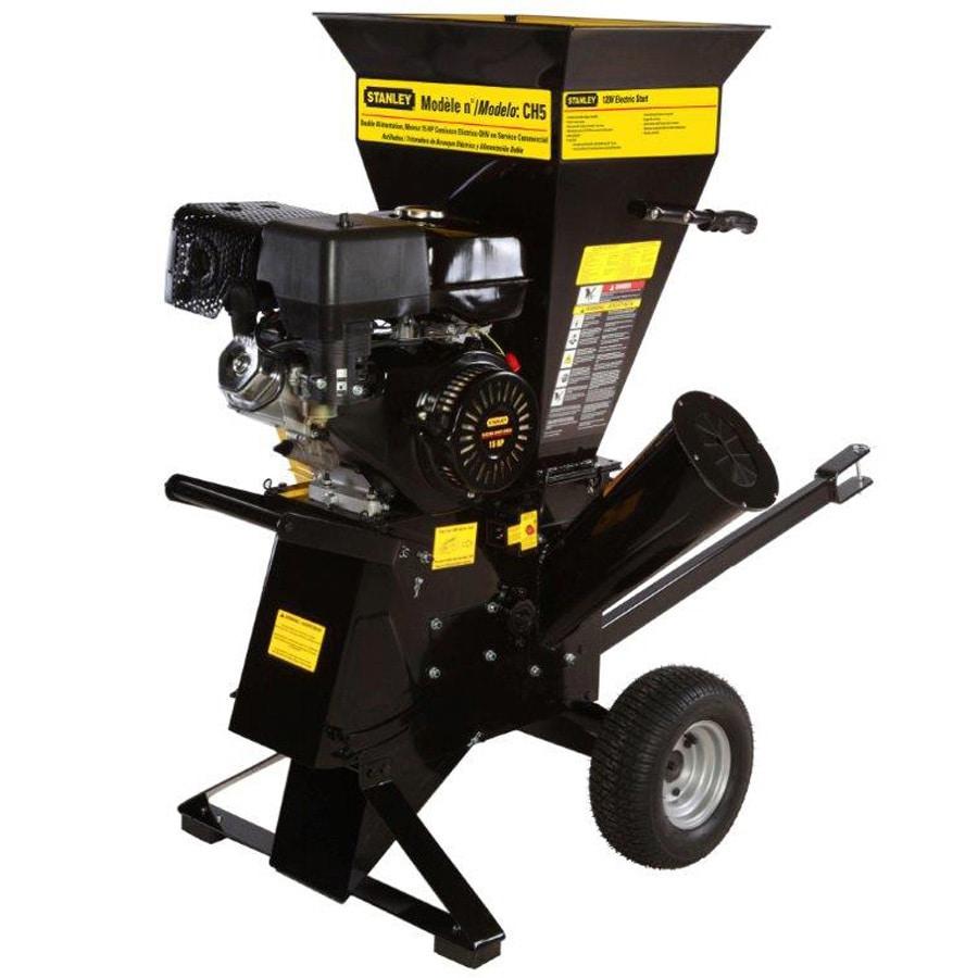 Stanley 420cc Steel Gas Wood Chipper