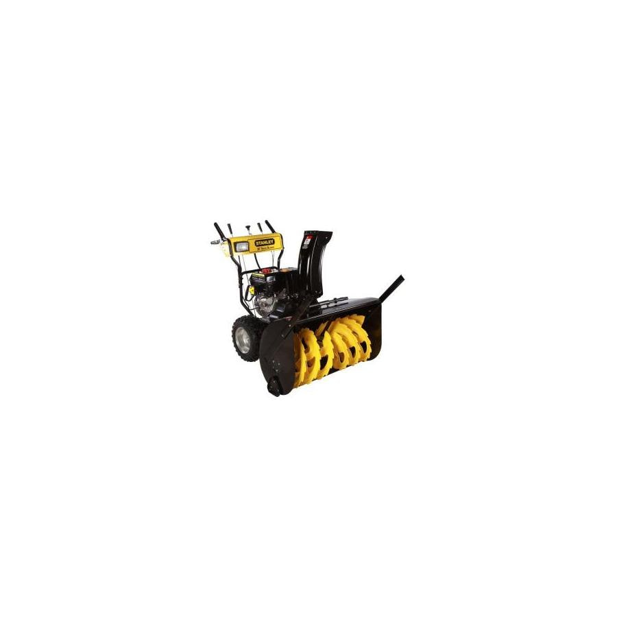 Stanley 420-cc 36-in Two-Stage Electric Start Gas Snow Blower with Headlight