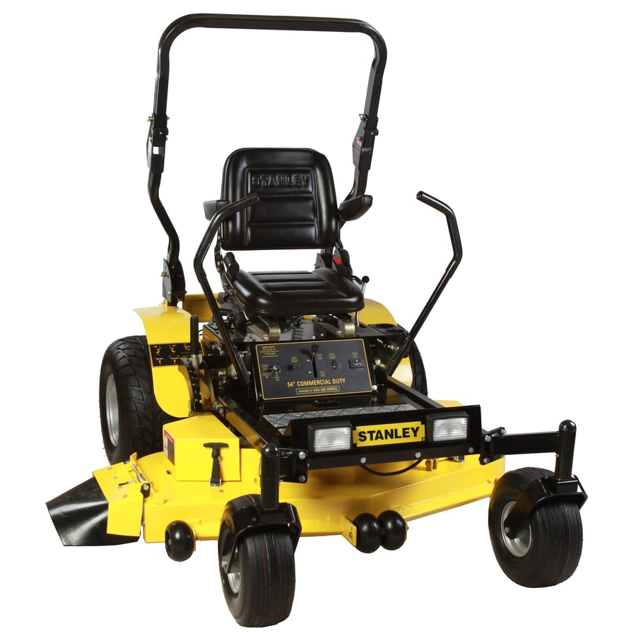 Stanley 54Zs 24-HP V-Twin Dual Hydrostatic 54-in Zero-Turn Lawn Mower