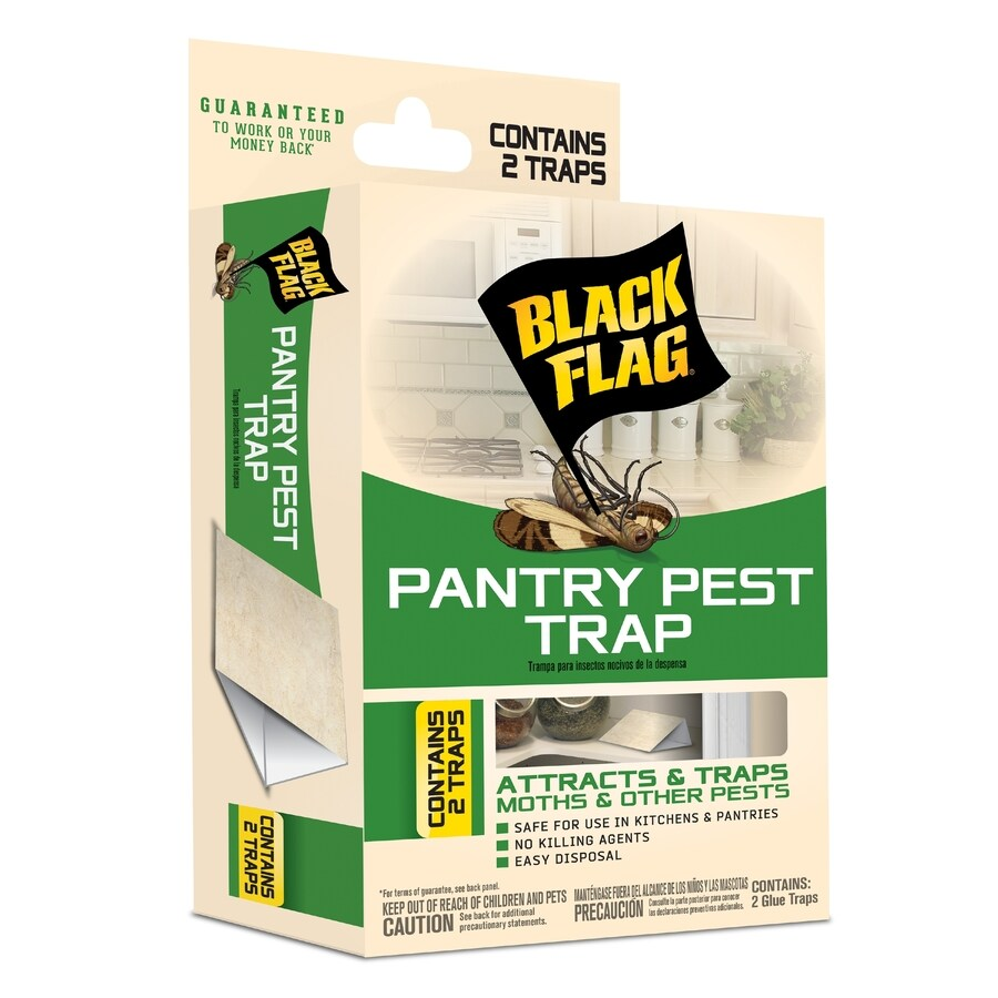 BLACK FLAG Pantry Pest 2-Count Disposable Insect Traps