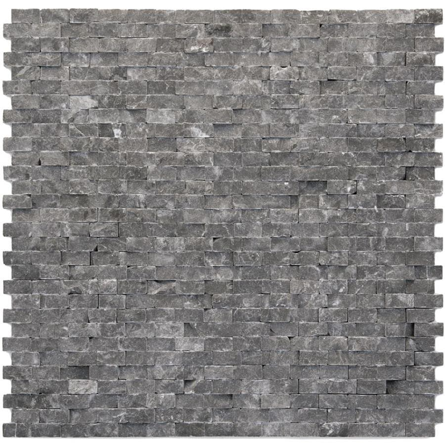 Solistone Modern 10-Pack Madrid Mosaic Marble Wall Tile (Common: 12-in x 12-in; Actual: 12-in x 12-in)