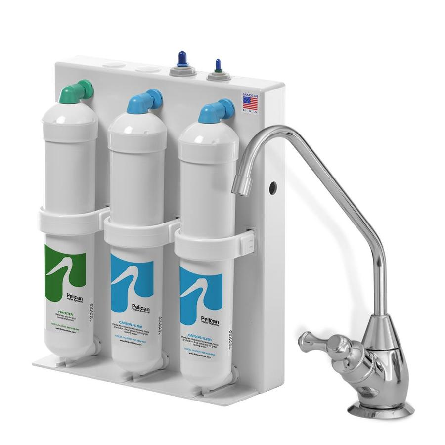 Pelican Water Under Counter Filter System Triple Stage Gac
