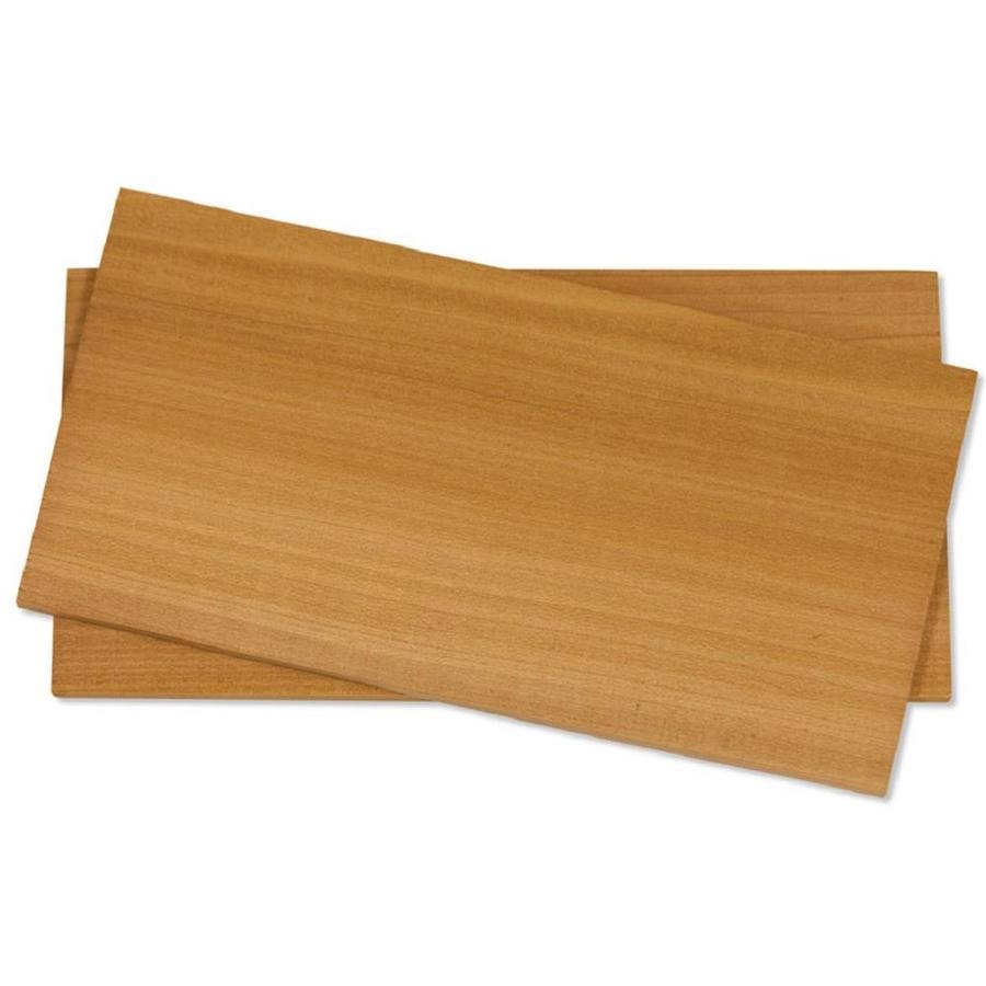 Fire & Flavor 2-Pack 11-in x 5.5-in Cedar Wood Grilling Planks