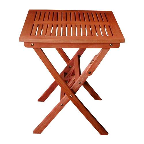 Vifah Vifah Malibu Square Outdoor Bistro Table 24 In W X 24 In L In The Patio Tables Department At Lowes Com