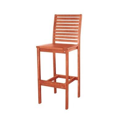 Admirable Vifah Malibu Outdoor Bar Chair At Lowes Com Spiritservingveterans Wood Chair Design Ideas Spiritservingveteransorg