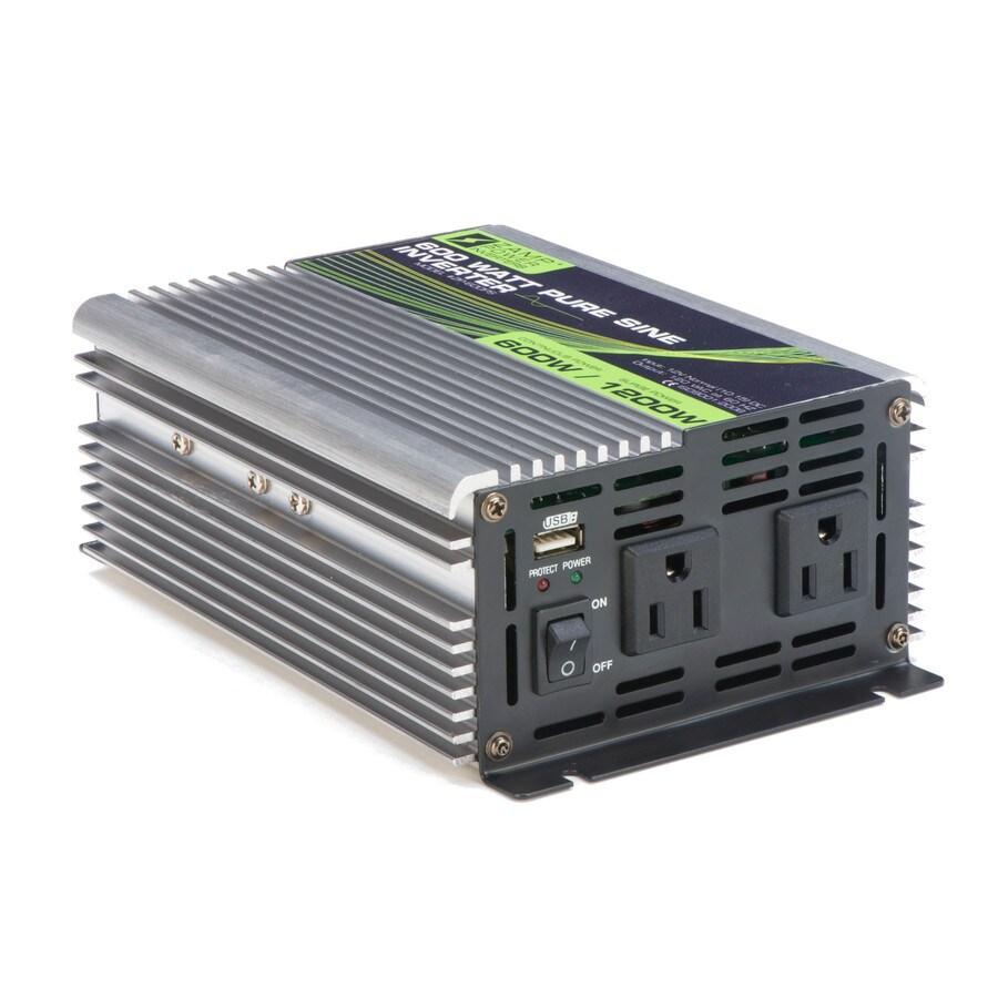 Zamp Solar 600-Watt 12 VDC Off-Grid Inverter