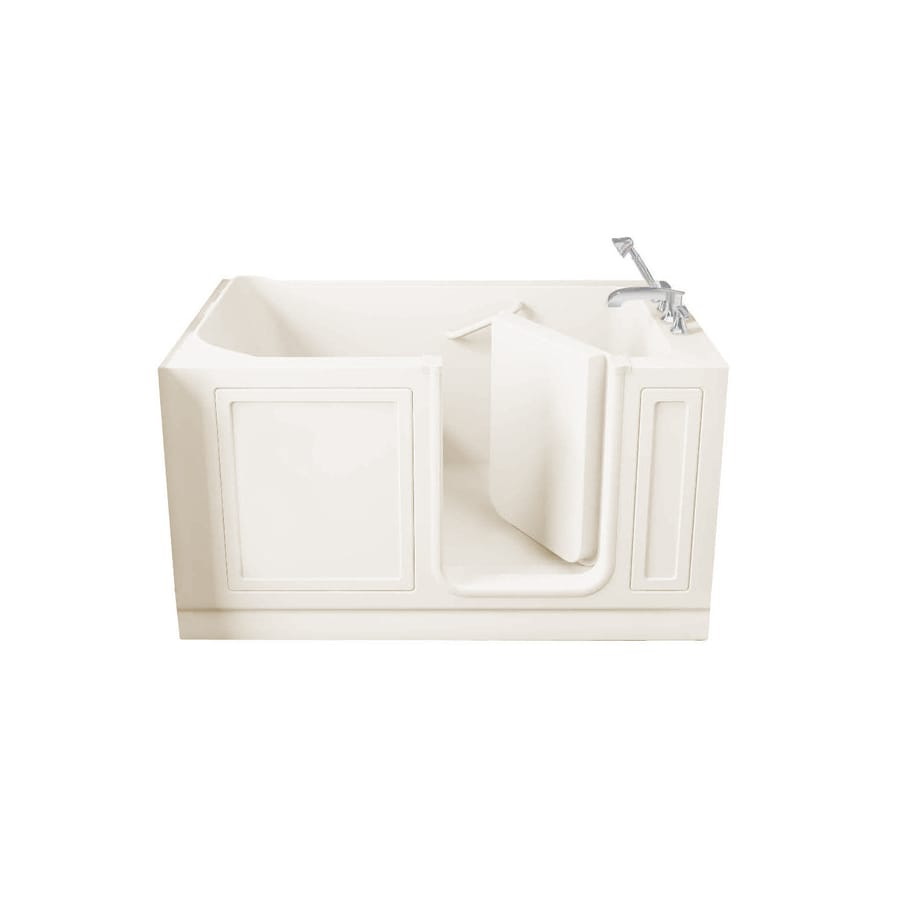American Standard Acrylic Rectangular Walk-in Bathtub with Right-Hand Drain (Common: 32-in x 60-in; Actual: 37-in x 32-in x 59.5-in)