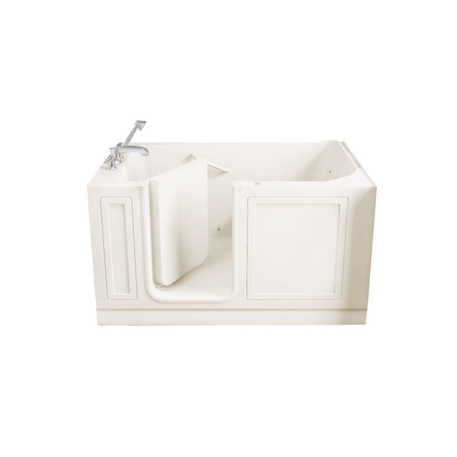 American Standard Walk-In Baths Walk-in Baths Linen Acrylic Rectangular Walk-in Whirlpool Tub (Common: 32-in x 59-in; Actual: 37-in x 32-in x 59-in)