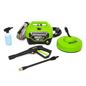 Greenworks 1800 PSI 1.2-Gallon-GPM Cold Water Electric Pressure Washer