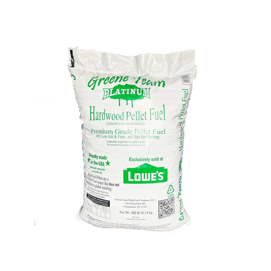 40-lb Greene Team Platinum Hardwood Pellet Fuel