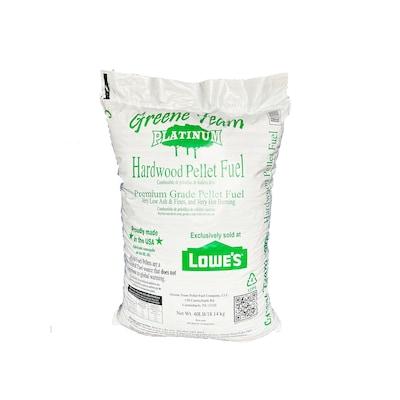 40 Lb Greene Team Platinum Hardwood Pellet Fuel At Lowes Com