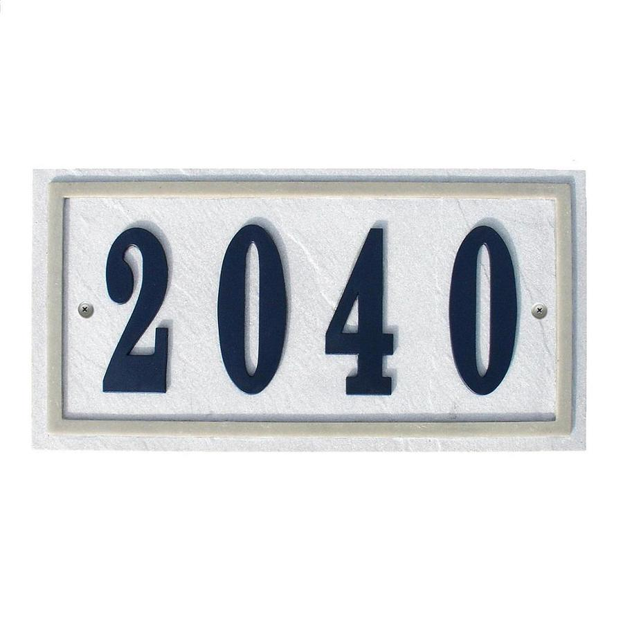 Custom Home Accessories 7-in House Number Rectangle