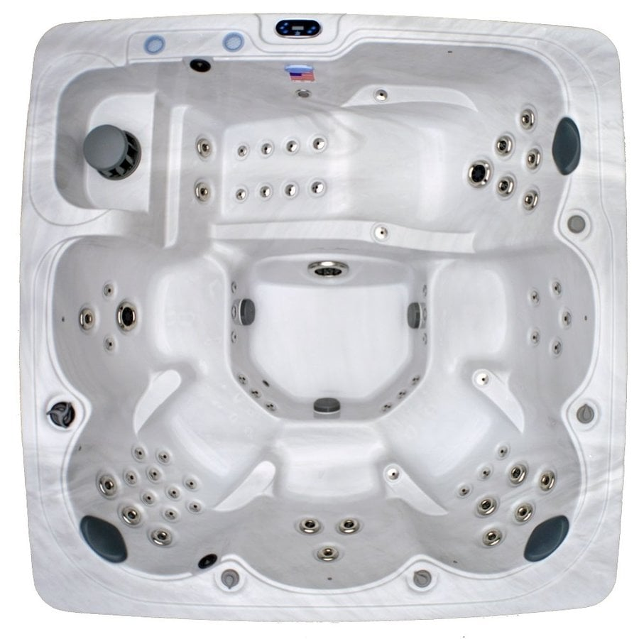 Shop Home and Garden 6-Person Square Hot Tub at Lowes.com