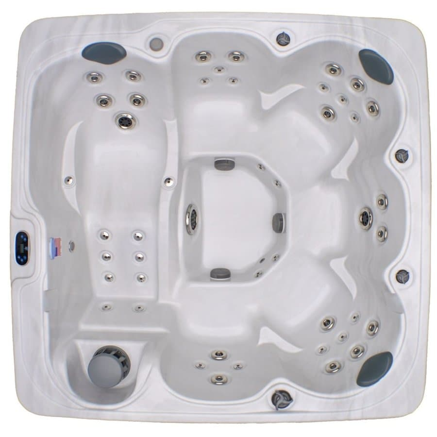 Home And Garden 6 Person Square Hot Tub