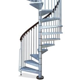 Merveilleux Arke Enduro 55 In X 10 Ft Gray Spiral Staircase Kit