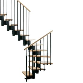 Delicieux Arke Kompact X 9.9 Ft Black Modular Staircase Kit