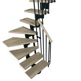 Superior Arke Kompact X 9.9 Ft Black Modular Staircase Kit