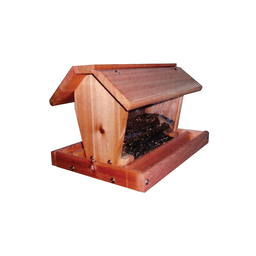 Stovall Products Stovall Wood Hopper Bird Feeder
