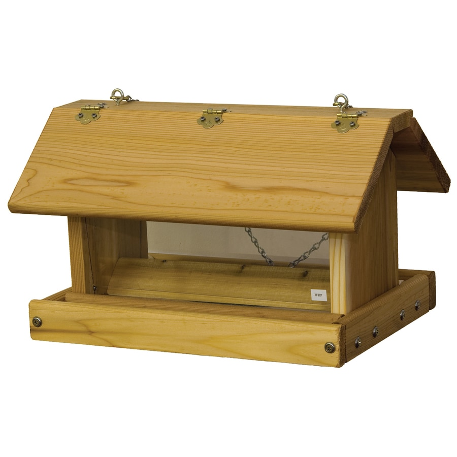 Stovall Products Wood Platform Bird Feeder