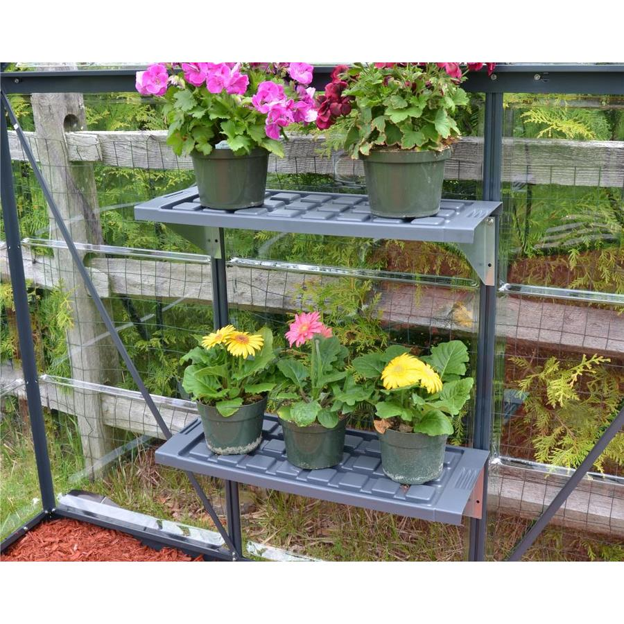 Palram 4.145-ft L x 1-ft W x 0.085-ft H Greenhouse