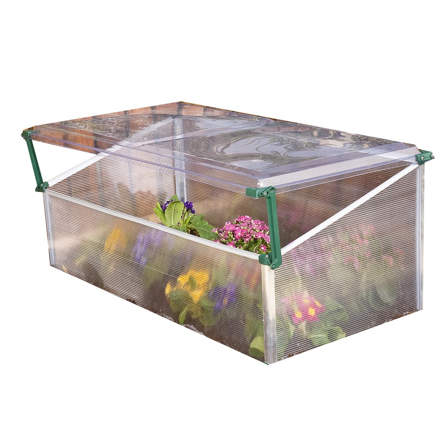 Palram 1.75-ft L x 3.41-ft W x 1.41-ft H Polycarbonate Greenhouse