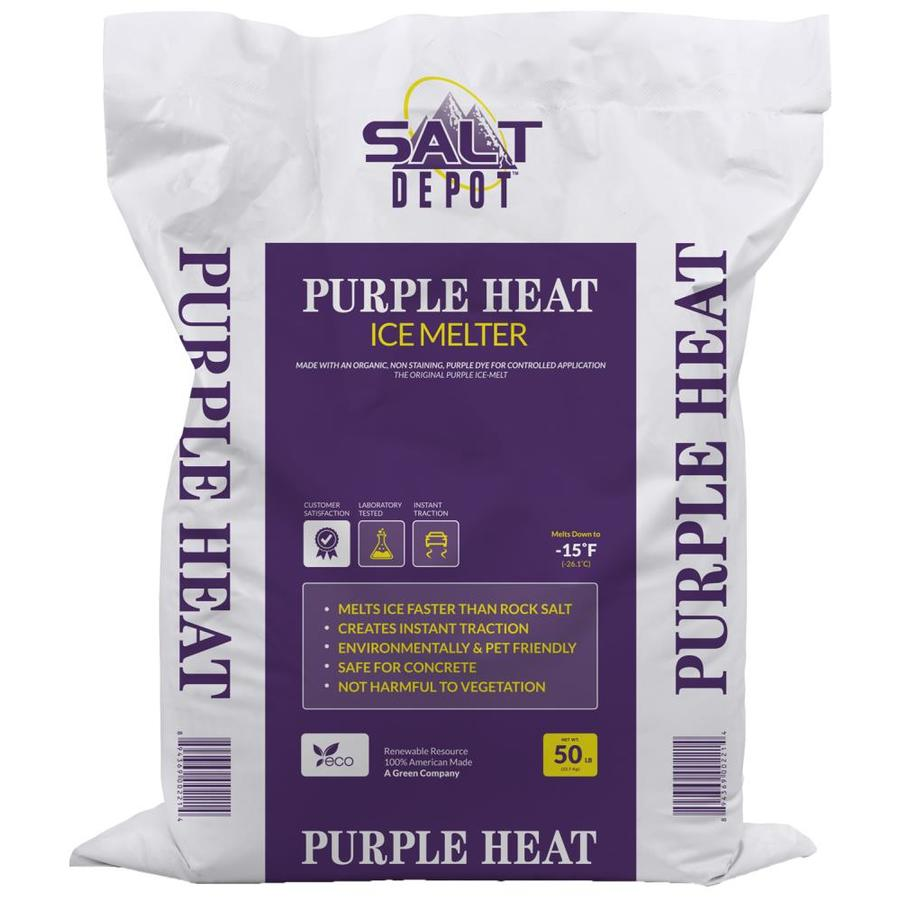 Salt Depot 50-lb Purple Heat Ice Melt