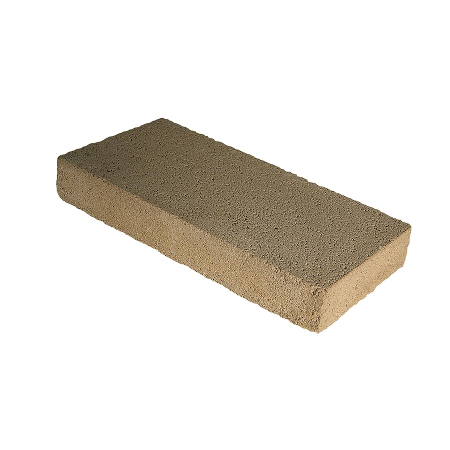 Cap Concrete Block (Common: 8-in x 2-in x 16-in; Actual: 7.625-in x 2.25-in x 15.625-in)